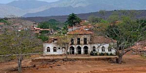 Água Verde-CE-Mansão abandonada à beira da Rodovia CE-060-Foto:ARAGÃO