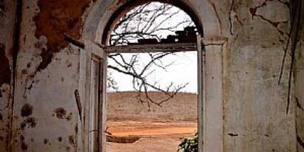 Água Verde-CE-Vista à partir da janela do casarão-Foto:ARAGÃO