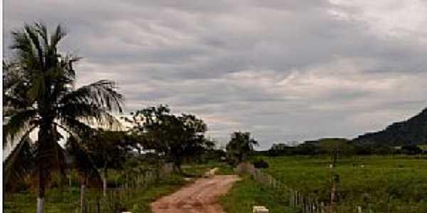 Aguaí-CE-Estrada rural do Distrito-Foto:ARAGÃO