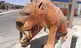 Maravilha - Maravilha-AL-Tigres Dentes de Sabre na Praça da Matriz-Foto:Barco do espaço Leite