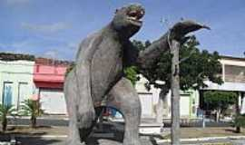 Maravilha - Réplica de Bicho Preguiça em Maravilha-Foto:Sergio Falcetti