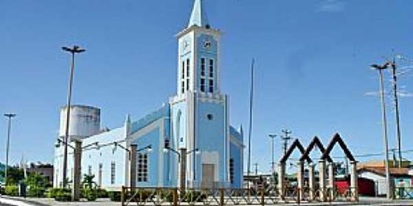 Aiuába-CE-Igreja Matriz-Foto:WLuiz