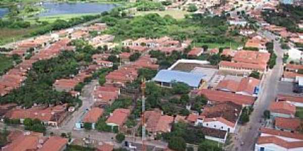 Aiuába-CE-Vista da cidade-Foto:Charliane