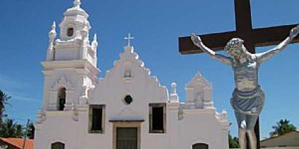 Almofala-CE-Igreja centenária-Foto:Claudio Oliveira Lima