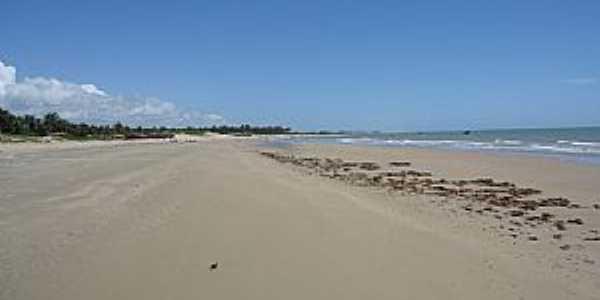 Almofala-CE-Praia deserta-Foto:Luiz Fabricio