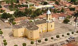 Altaneira - Altaneira-CE-Matriz de Santa Tereza D´Ávila-Foto:paracatumemoria.wordpress.com