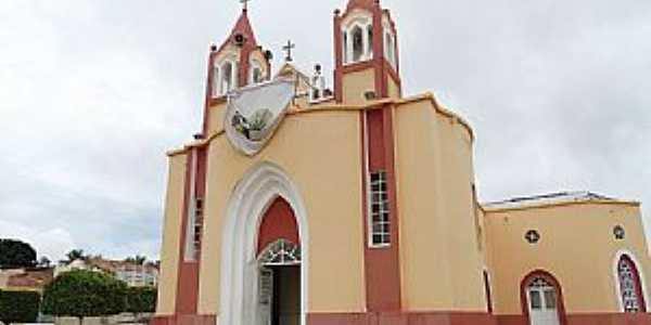 Altaneira-CE-Matriz de Santa Tereza D´Ávila-Foto:Vicente A. Queiroz