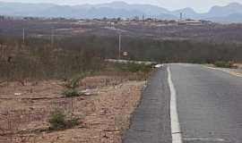 Alto Santo - Alto Santo-CE-Chegando na cidade-Foto:helio freire da silva
