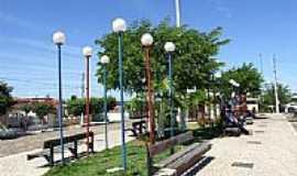 Alto Santo - Praça do Hospital-Foto:darleybarreto
