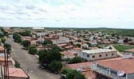 Alto Santo - Rua Frei Lamberto e vista parcial da cidade-Foto:Italo morais