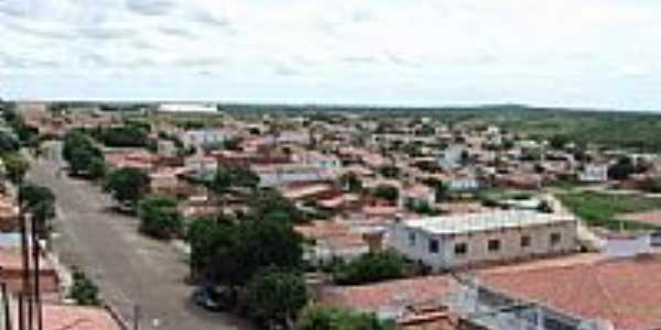 Rua Frei Lamberto e vista parcial da cidade-Foto:Italo morais