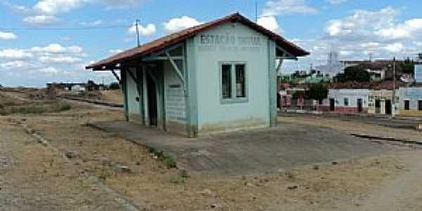 Amanaiara-CE-Antiga Estação Ferroviária-Foto:Paulo Regis 2011