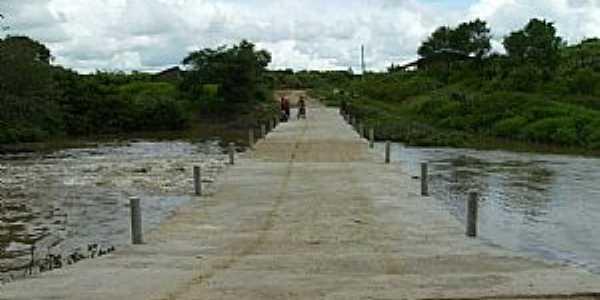Amanaiara-CE-Ponte sobre o Rio Juré-Foto:Antonio Evandro