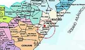 Marechal Deodoro - Mapa