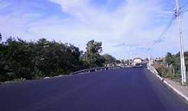 Amanari - Amanarí-CE-Ponte na entrada da cidade-Foto:copaengenharia.com.br