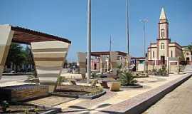 Amaniutuba - Amaniutuba-CE-Praça e Igreja Matriz-Foto:jairogomes