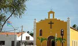 Amontada - Amontada-CE-Igreja de N.Sra.dos Navegantes em Icaraí de Amontada-Foto:meucadernodeviagem.