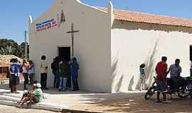 Araçás - Araçás-CE-Capela de São Joaquim-Foto:ibiapinanews.