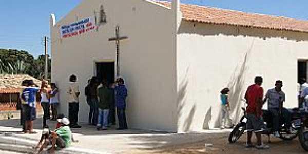 Araçás-CE-Capela de São Joaquim-Foto:ibiapinanews.
