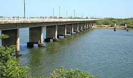 Aracati - Aracati-CE-Ponte sobre o Rio Jaguaribe-Foto:Herlanio Evangelista
