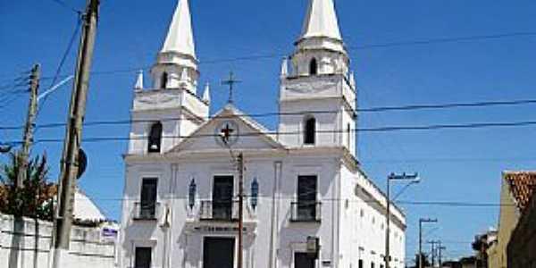 Igreja Nosso Senhor do Bonfim. Construção de 1772. Aracati, Ceará - por Francisco Edson Mendonça Gomes