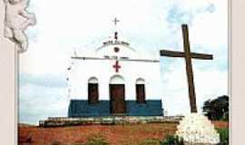 Aracoiaba - Capela do Alto Santo em Aracoiaba-Foto arquivo do GVT postada por:carlos blemar silvei�