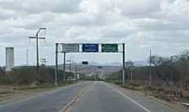 Aracoiaba - Entrada da cidade de Aracoiaba-CE-Foto:andre pimentel