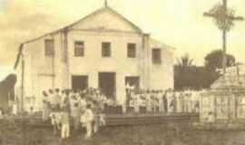 Aracoiaba - Antigo Predeio Matriz Aracoiaba_Ce_1914 , Por carlos blemar silveira