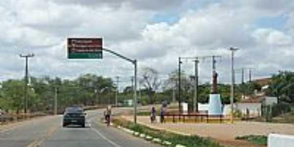 Saindo da cidade de Aracoiaba-CE-Foto:andre pimentel