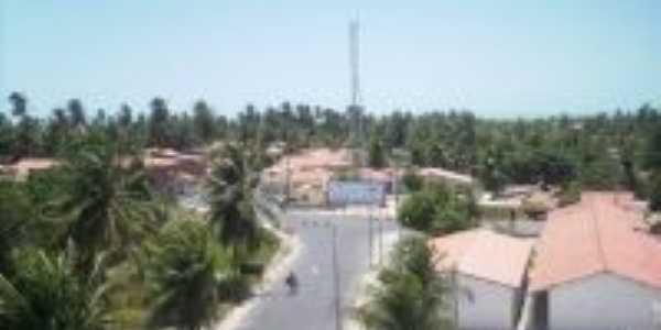 vista do alto no centro de Aranaú, Por André Filipe