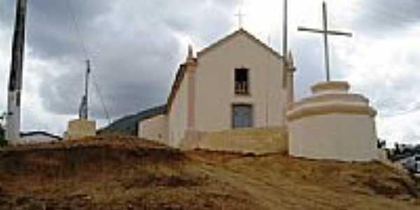 Igreja na Vila de Arapari, a mais antiga do município de Itapipoca-Foto:Francisco Edson Mend…