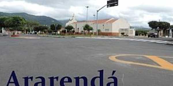 Ararendá-CE-Centro da cidade-Foto:OesteCE em foco