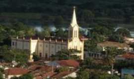Araripe - vista do alto igreja matriz, Por Cidadã Araripense