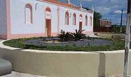 Arariús - Arariús-CE-Lateral da Igreja de N.Sra.da Conceição-Foto:Facebook