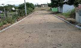 Arariús - Arariús-CE-Rua do Distrito-Foto:Vicente Rodrigues