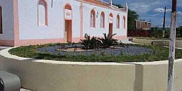 Arariús-CE-Lateral da Igreja de N.Sra.da Conceição-Foto:Facebook
