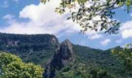 Araticum - Vista da Pedra do Pendurado, próximo ao Teleférico de Ubajara, a 3km de Araticum., Por Fábio Aguiar