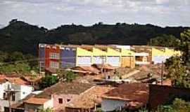 Aratuba - Col�gio em Aratuba, antiga Vila de Coit�-CE-Foto:juliolima