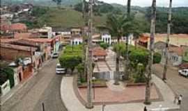 Aratuba - Pra�a central de Aratuba, antiga Vila de Coit�-CE-Foto:juliolima