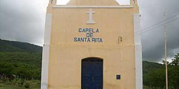Aratuba-CE-Capela de Santa Rita no Distrito de Marés -Foto:Josue Marinho