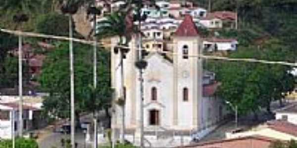 Igreja Matriz de São Francisco de Paula em Aratuba, antiga Vila de Coité-CE-Foto:juliolimo