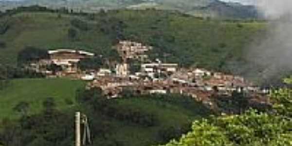 Vista aérea de Aratuba, antiga Vila de Coité-CE-Foto:Gestar Aratuba