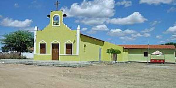 Arneiroz-CE-Igreja no Povoado Planalto-Foto:WLuiz