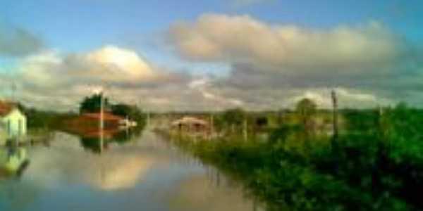 Rio Pirangí no inverno, Por Alzenira