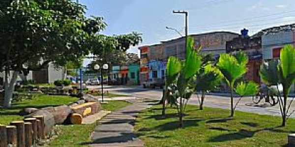 Matriz de Camaragibe-AL-Praça Bom Jesus-Foto:ivanaldo ( babo)