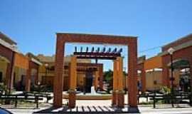Assaré - Assaré-CE-Calçadão no centro-Foto:Vaniadias