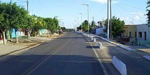 Assaré-CE-Rua da cidade-Foto:professor_pepe