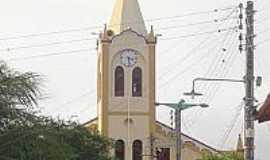 Baixio - Igreja Matriz de S�o Francisco das Chagas em Baixio-CE-Foto:Cin�zio Ramalho