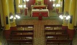 Baixio - Interior da Igreja Matriz de S�o Francisco das Chagas em Baixio-CE-Foto:Cin�zio Ramalho