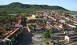 Baixio - Vista parcial de Baixio-CE-Foto:Cinézio Ramalho